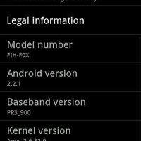 Hivatalos 2.2 froyo image a Z71 készülékhez!!!