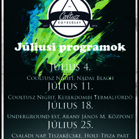 Júliusi programjaink