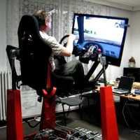 Rallye cross car simulator