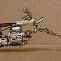 Chopper motorok karórából