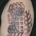 Lenyűgöző 3D tetoválások