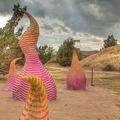 Látványos szobrok zsírkrétából