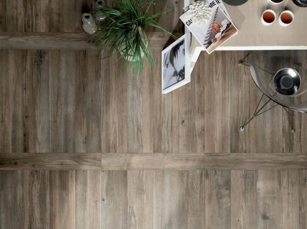 Fahatású csempe a padlón és a falakon - Create Interior