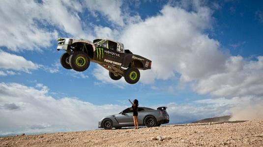 Őrült száguldás a Mojave-sivatagban