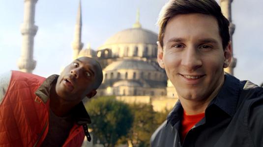 Messi és Kobe megint szívatja egymást