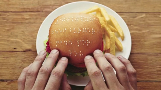 Braille-burger