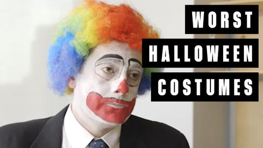 A legrosszabb halloween jelmezek a munkahelyen