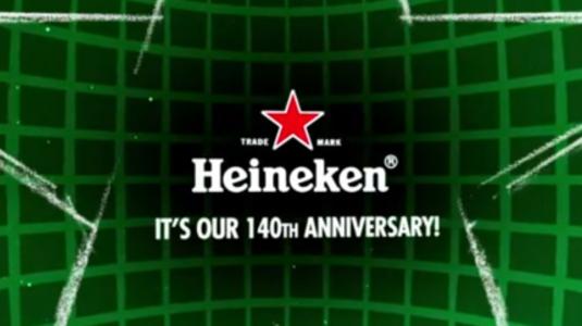140 éves a Heineken! Meglepetés Budapesten!