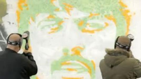 Művészet: Paintball graffiti