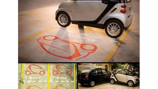 Okos kis autó, okos hirdetésekkel