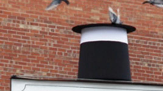 Ebből a cilinderből nem fogy ki a galamb
