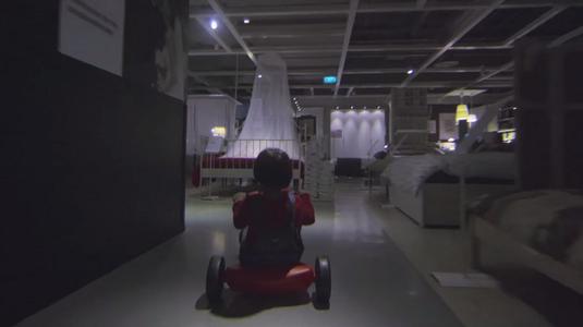 Hátborzongató IKEA reklám Halloweenre
