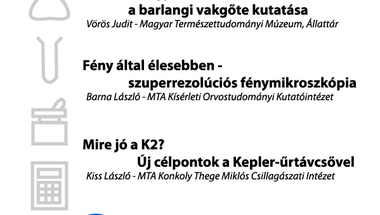 Budapest Science Meetup - Április