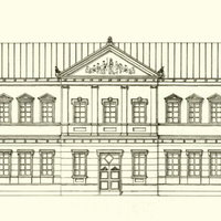 Az iparostanonc-iskola tervei I. – Áchim Gusztáv vázlattervei 1903-ból