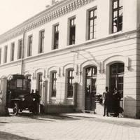 2. számú postahivatal a pályaudvaron
