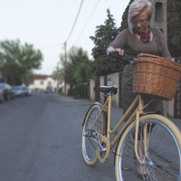 Tweed Run szervezői bringa