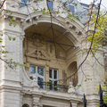 Bankelnöki rezidencia páratlan loggiával