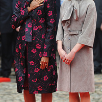 Együtt a két stílusos first lady