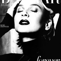 Renée Zellweger a Harper's Bazaarban