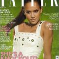 Gyönyörű Jessica a Tatler magazinban