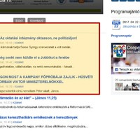 Kimaxolta a Fideszes propagandát a csepeli önkormányzat hivatalos honlapja