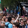 Különleges volt a szombati százeres kormányellenes budapesti tüntetés