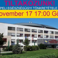 Pénteken délután ötkor tüntetés lesz a csepeli SZTK-nál