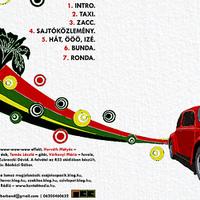 Íme a Taxi lemezborítója