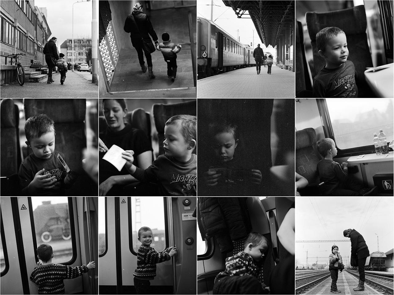 Boldi első vonatozása