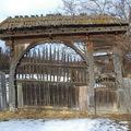 Csíkszentgyörgy gyöngyszeme a felújított kapu