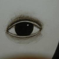 Rofusz Kinga kiállítása a Két Egérben (szem, mosoly és kéz)