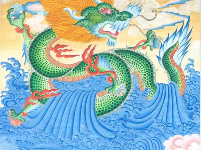 Felvétel egy Tibetben az égből lezuhant sárkány teteméről?
