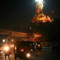 King Kong magasodik India fővárosa fölé