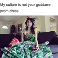 A kultúrám nem a szalagavatós ruhád