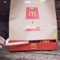 Magyar találmány a McDonald's új elviteles zacskója
