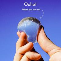 Víz ehető, szilikon implantátum szerű csomagolásban