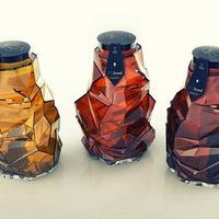 Csodálatos aszimmetrikus design üvegek, melyek teljesen piacképtelenek