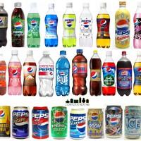 Pepsi a legfurcsább ízekben