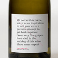 Péntek este egyedül egy üveg borral