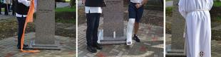 Szoborral tisztelegtünk Fischer-Colbrie Ágoston emléke előtt