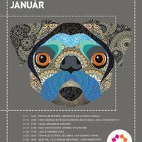Kaleidoszkóp Ház januári programjai