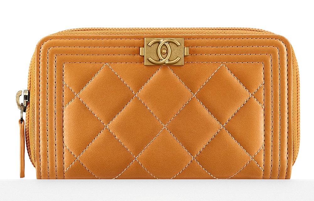 Chanel Boy Zipped Wallet - $700