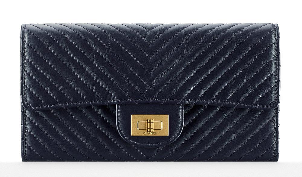 Chanel Chevron Flap Wallet - $1,000