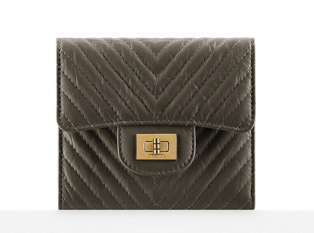 Chanel Chevron Small Wallet - $800