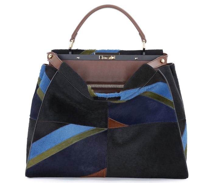 3 / 9 - A legdrágább borjúbőr táska<br />Fendi - Calf Hair Peekaboo Bag<br />1.986.000 Ft