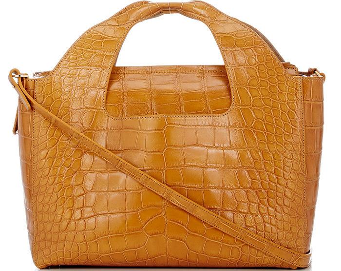 7 / 9 - A legdrágább aligátorbőr táska<br />The Row - Alligator Two for One 12 Bag<br />11.508.000 Ft