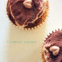 Tiramisú cupcake