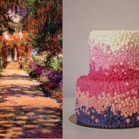 Pointillista torta