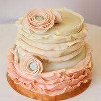 Fodros boglárkás torta