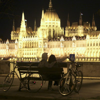 Budapest - Tavasz - Szerelem - Bicikli